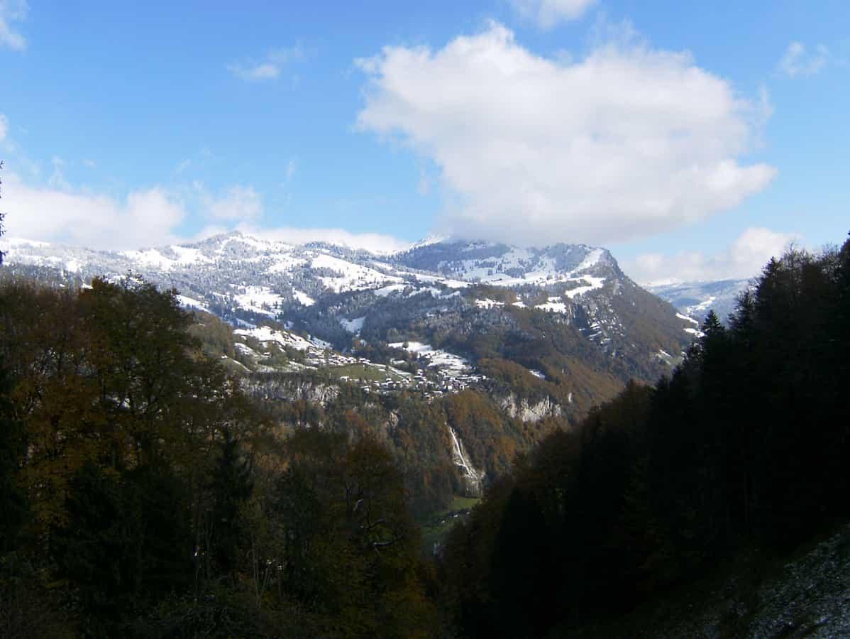 Illgau über dem Muotathal