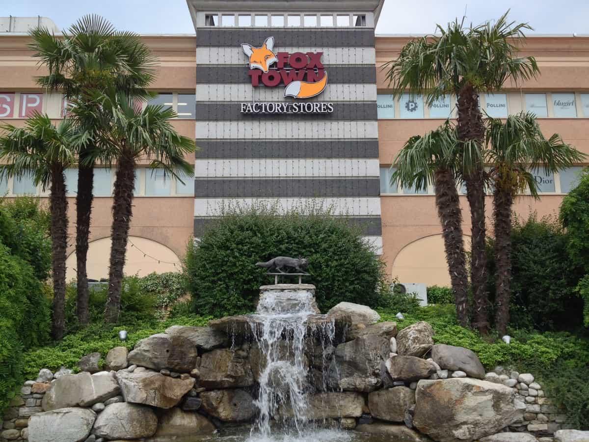 Centro commerciale Fox Town a Mendrisio