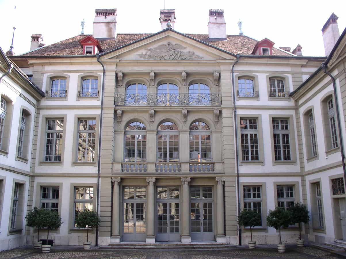Der Erlacherhof, Sitz der Stadtberner Regierung