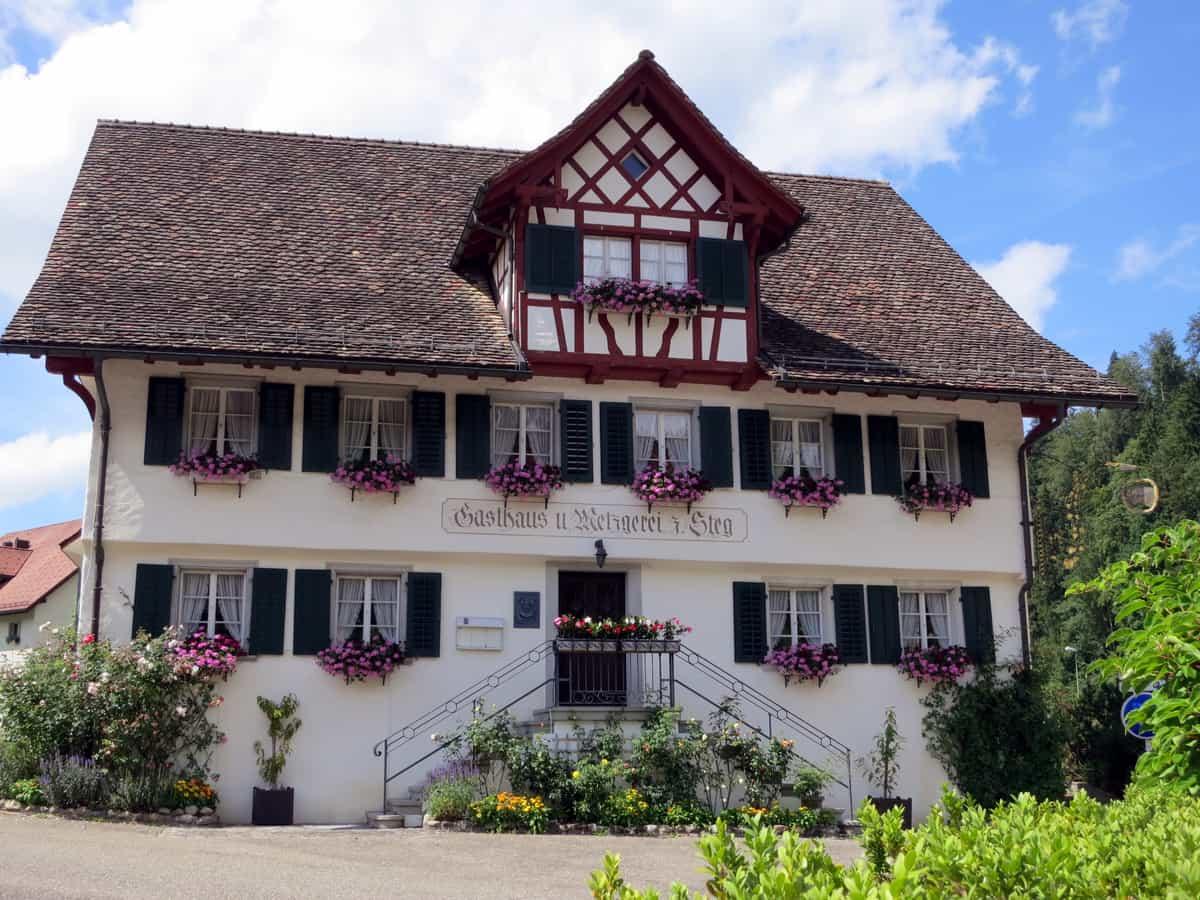 Ehemalige Pilgerraststätte in Steg, Gem. Fischenthal