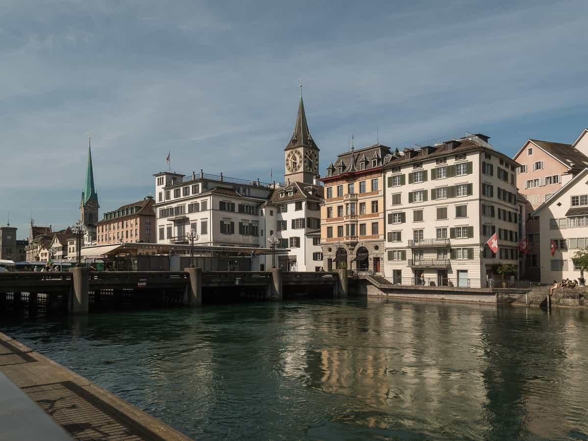 Rathausbrücke Zürich