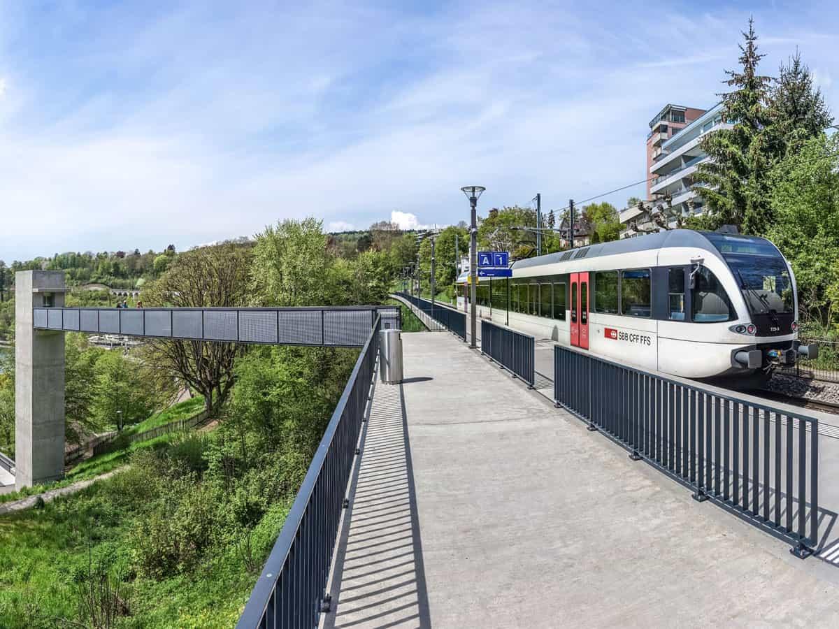 Bahnstation Neuhausen Rheinfall