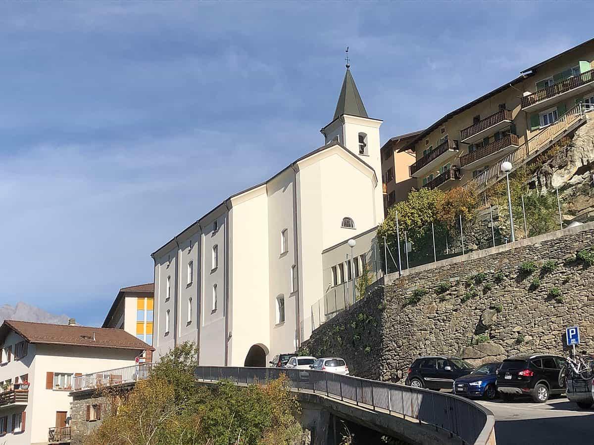 L'église d'Isérables