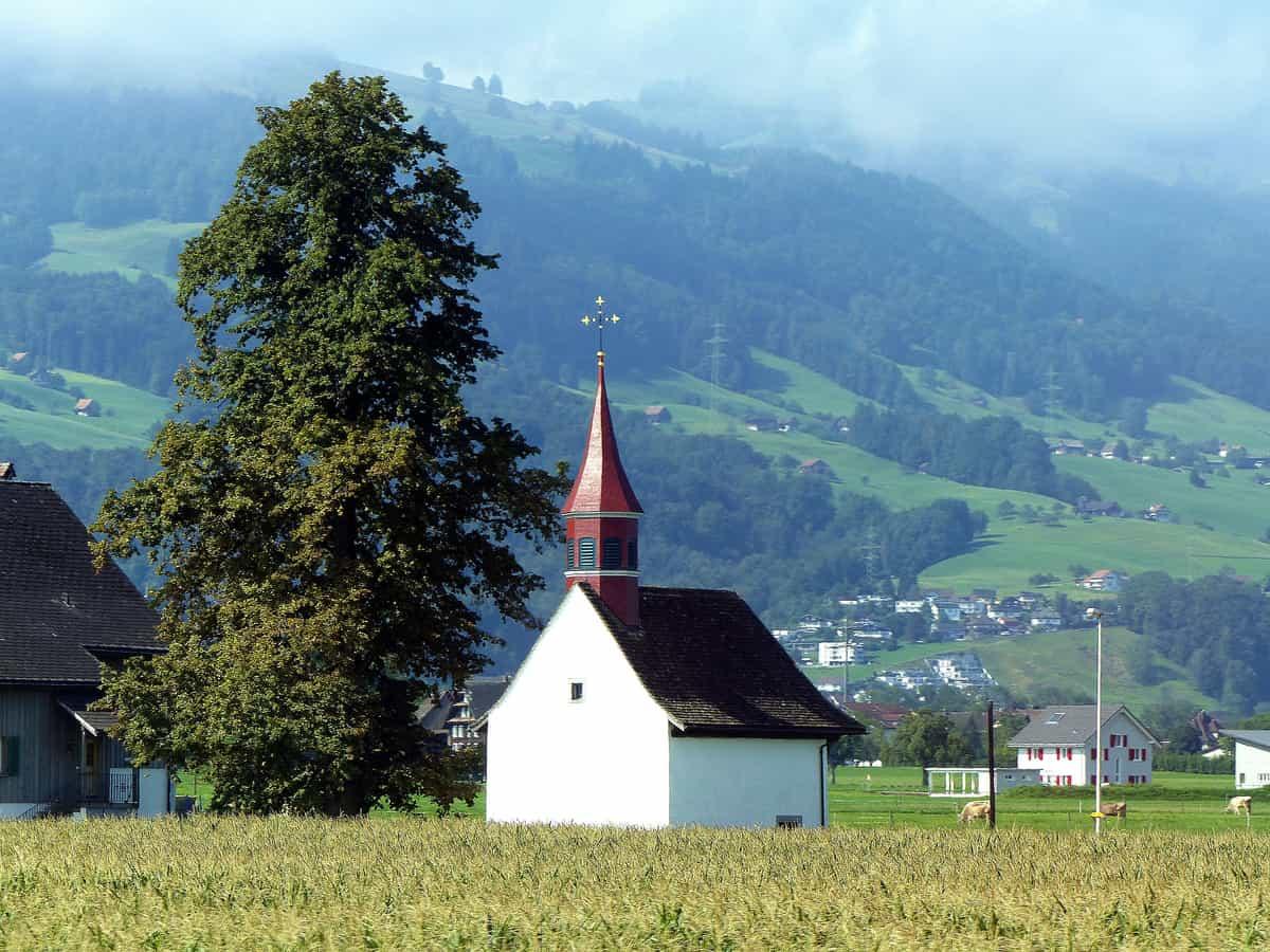 Tuggen – kleine Kapelle an der Mühlenstraße