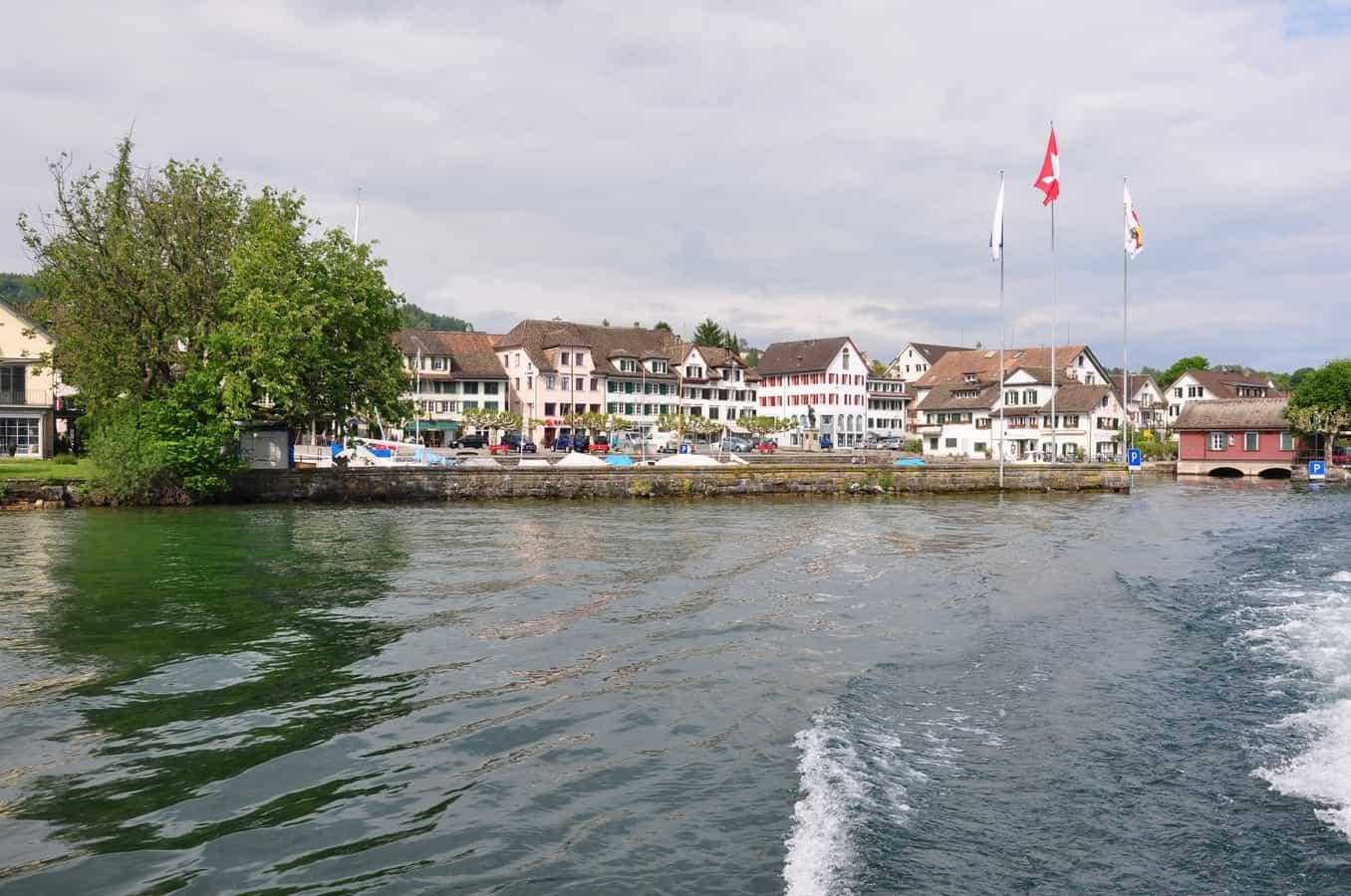 Der Hafen am Zürichsee