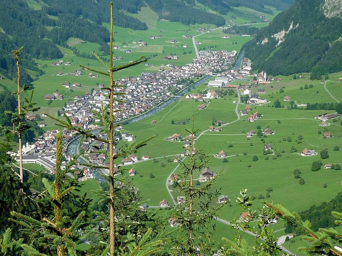 Muotathal, Blick vom Grossen Band