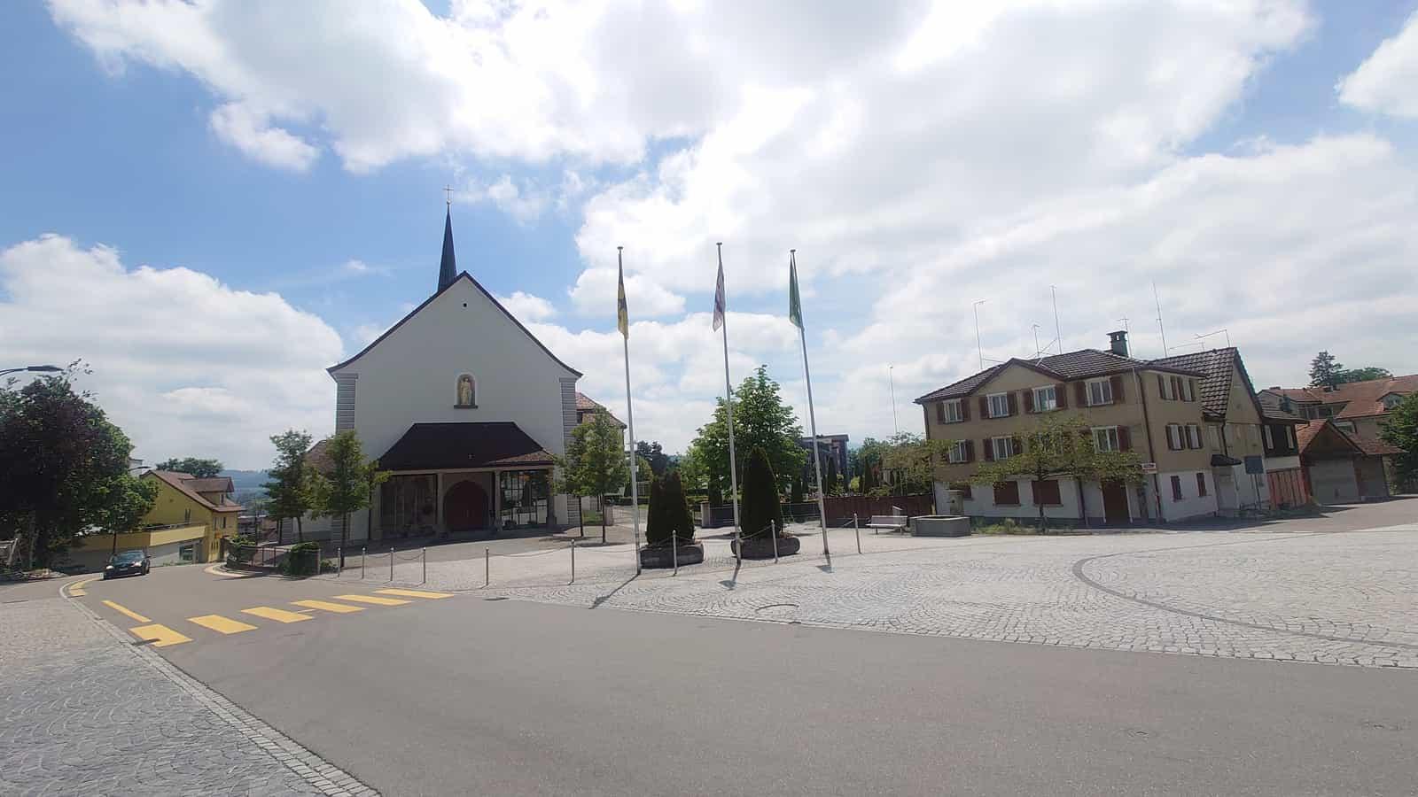 Dorfzentrum von Engelburg