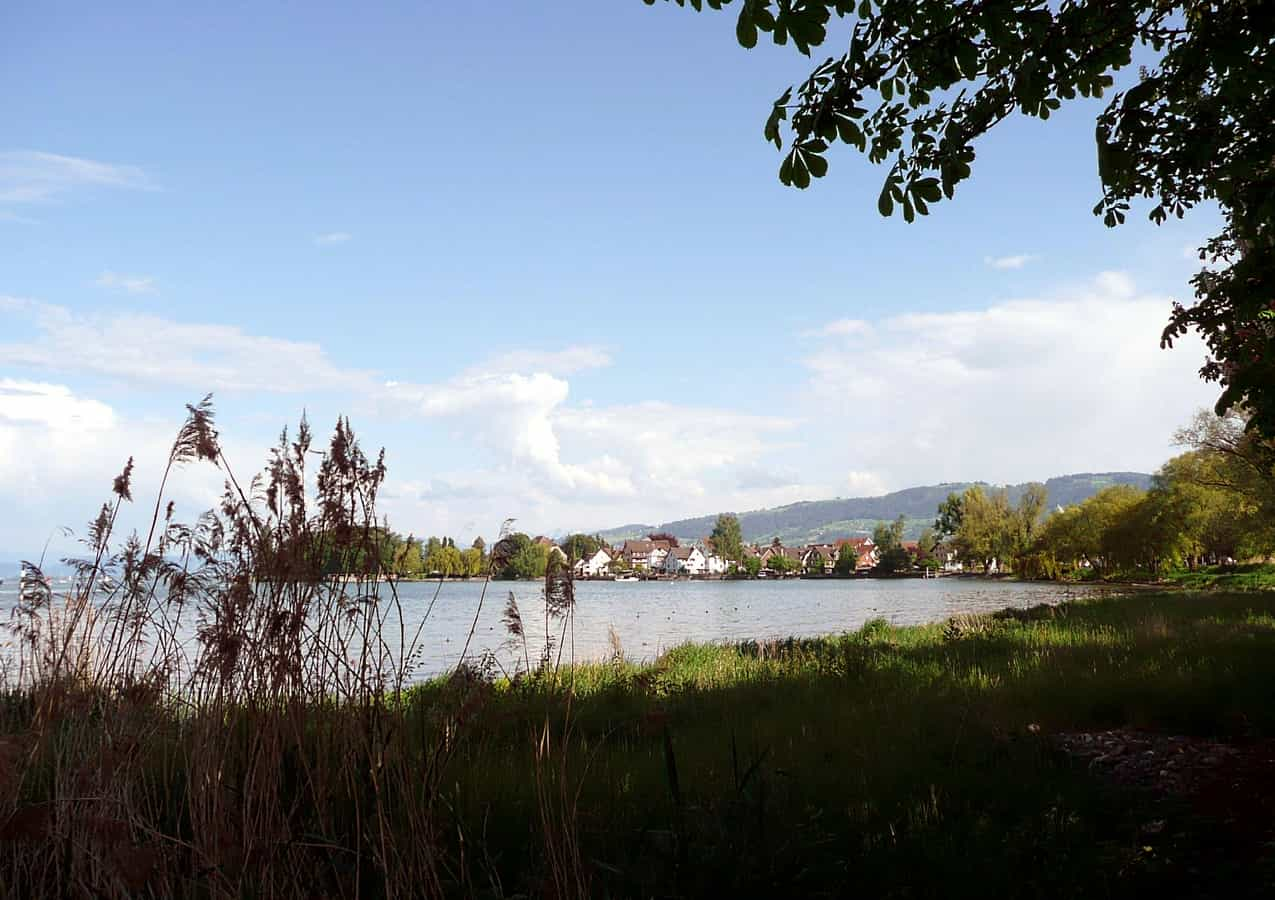 Steinach am Bodensee, von Arbon her gesehen