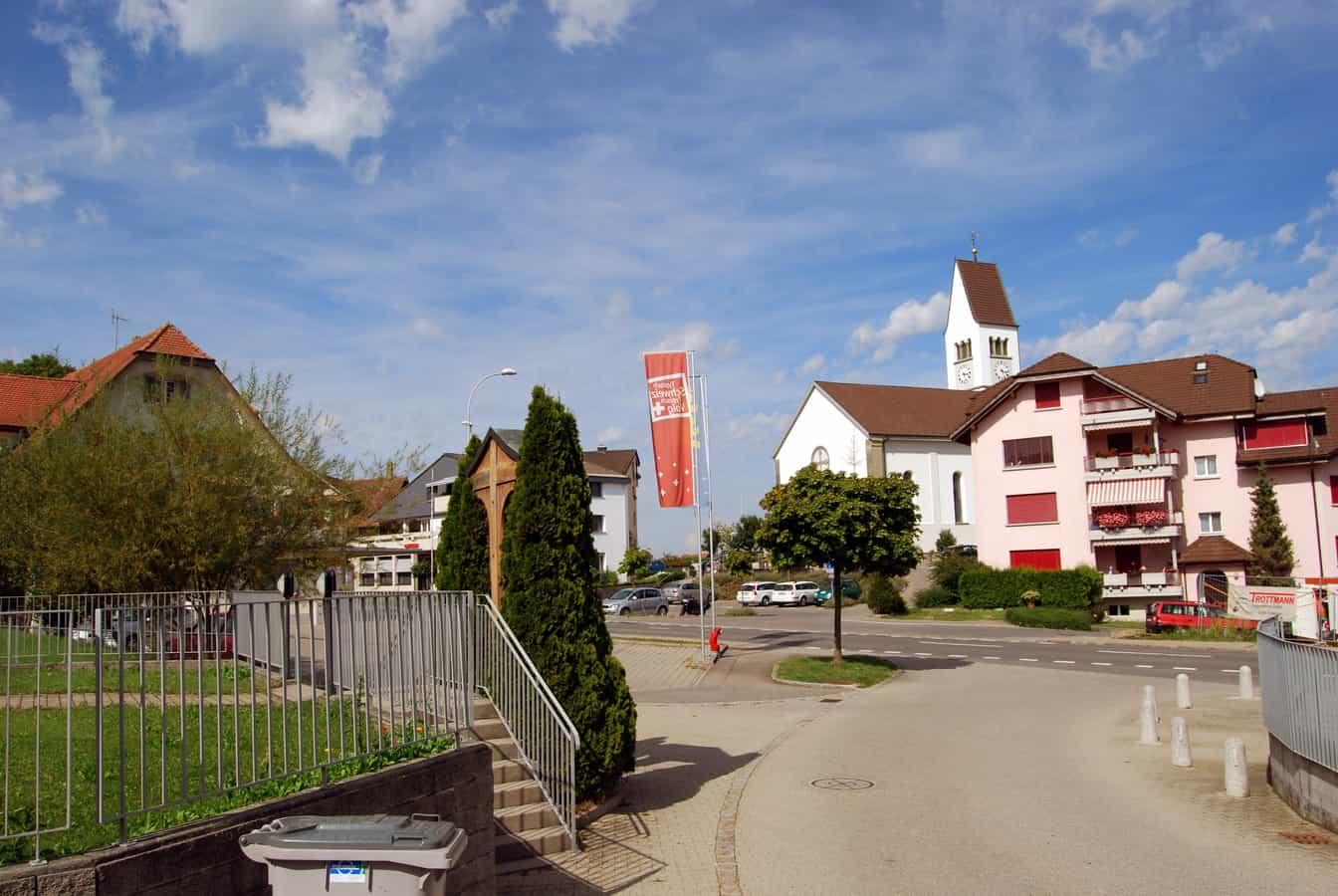 Dorfzentrum von Römerswil