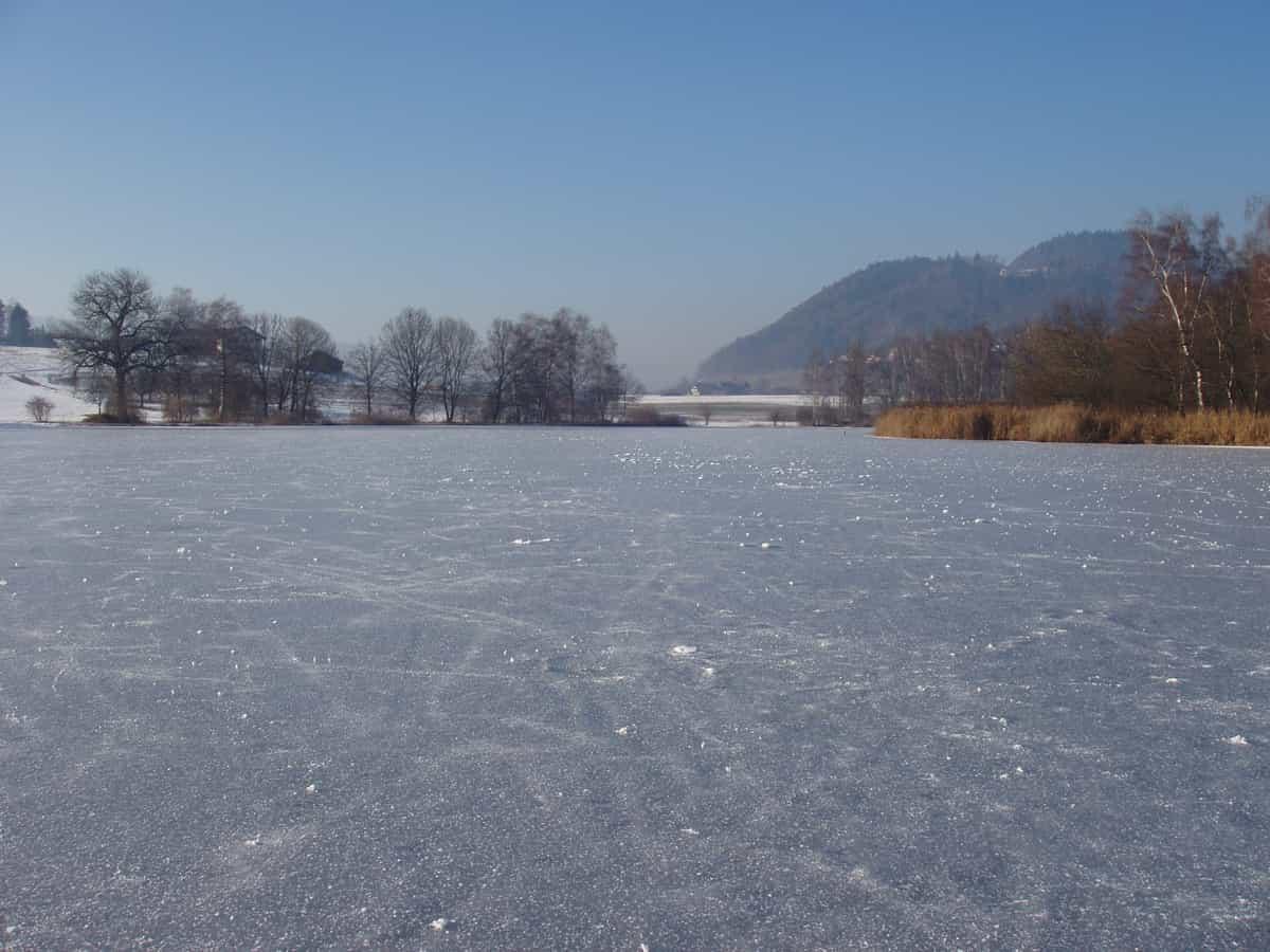 Gerzensee im Winter