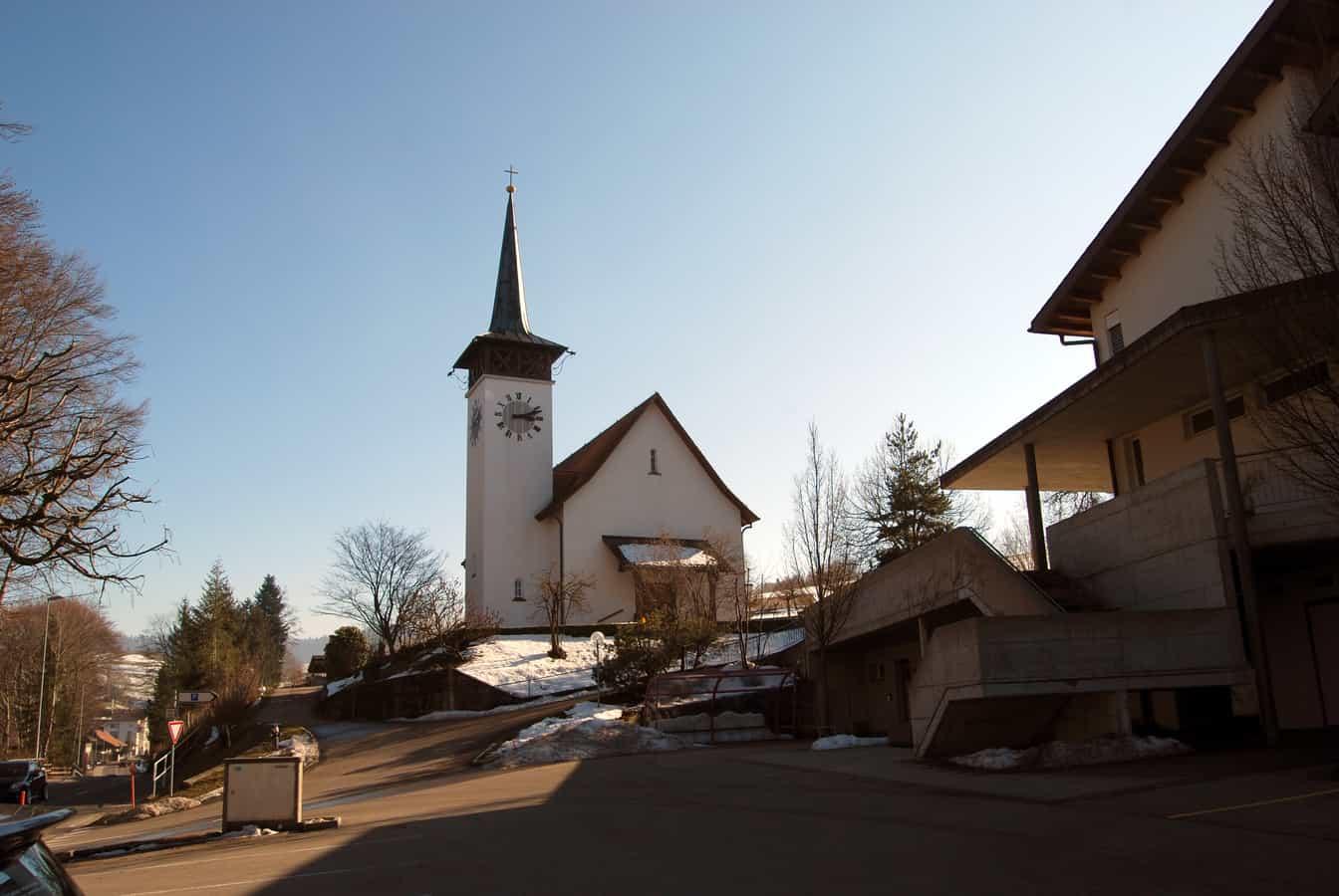 Reformierte Kirche in Wyssachen