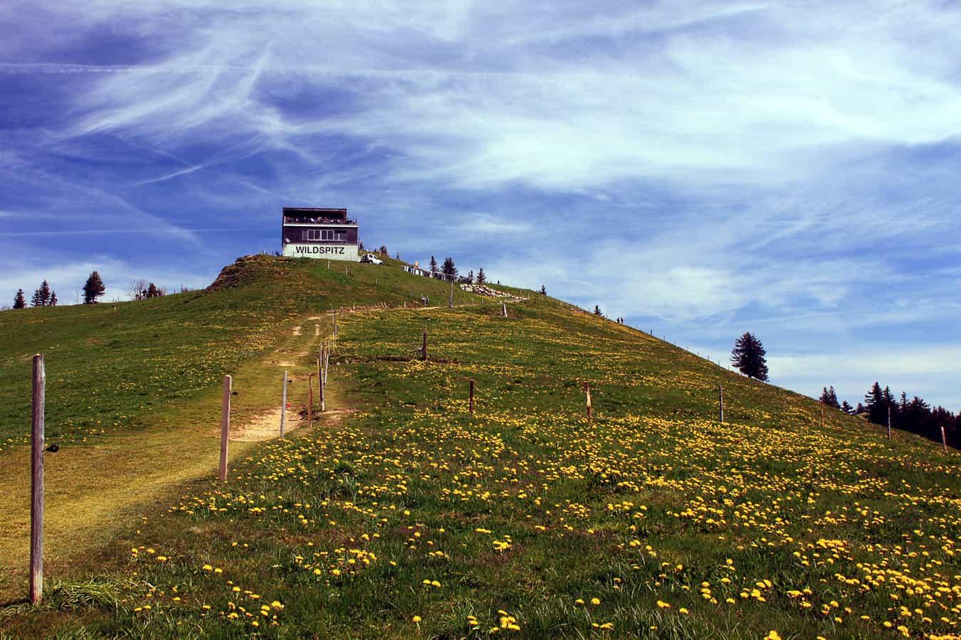 Bergrestaurant Wildspitz oberhalb Steinerberg