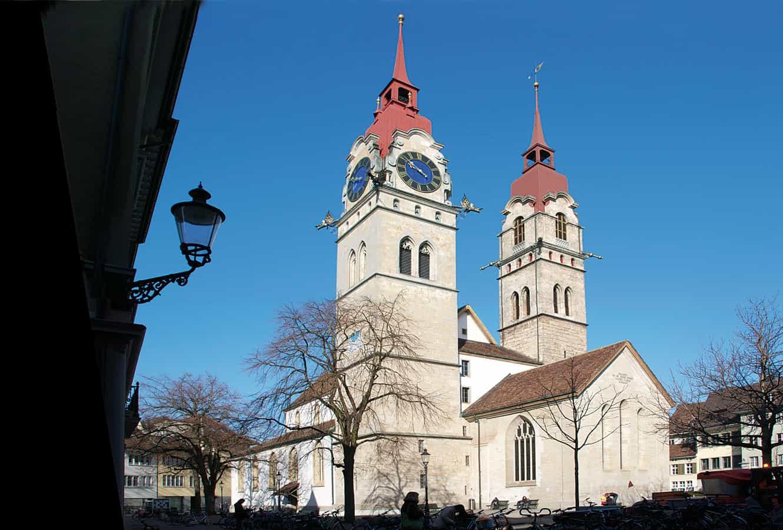 Kirchenplatz Winterthur
