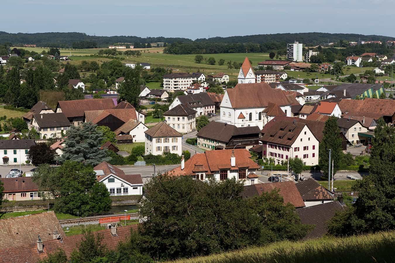 Centre ville de Boncourt