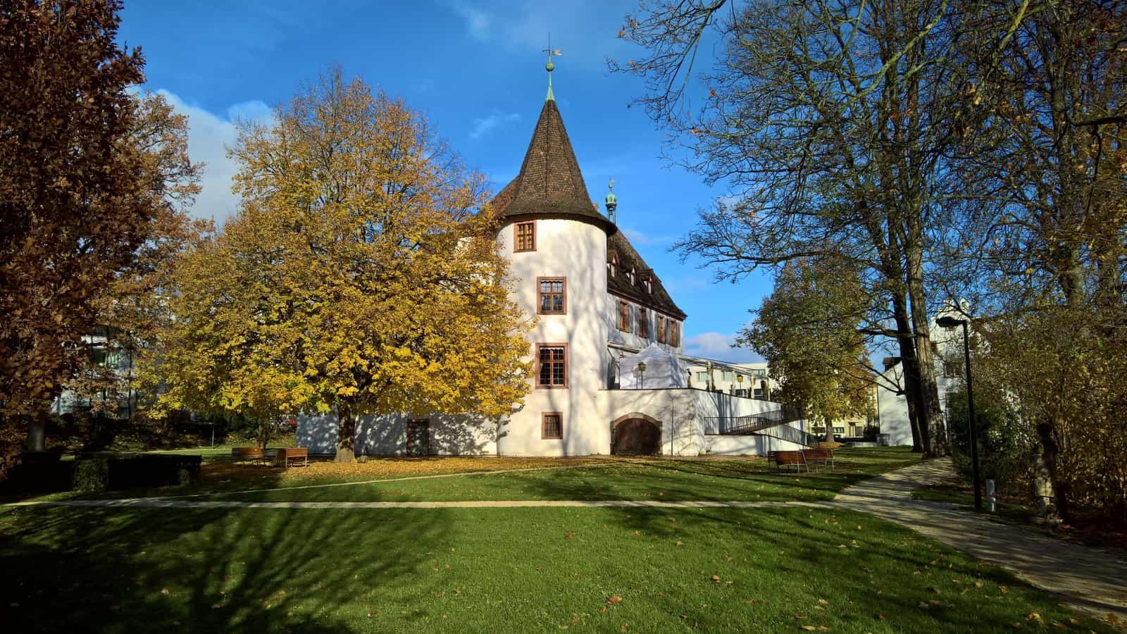 Schloss Binningen von der Südseite 2017