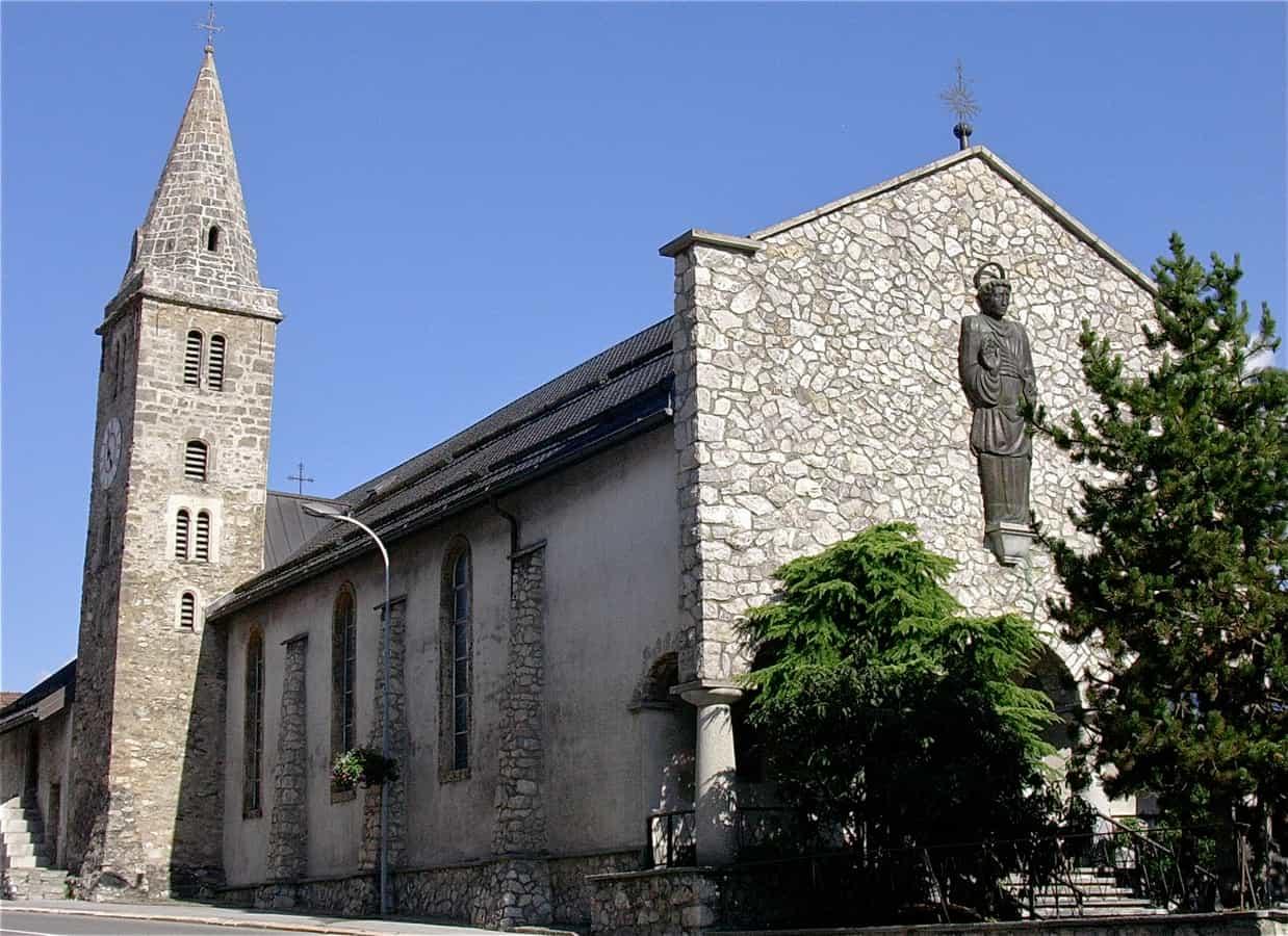 Église saint Pancrace à Grimisuat