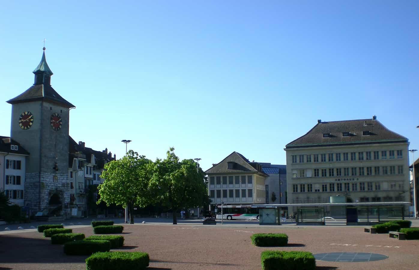 Amthausplatz Solothurn