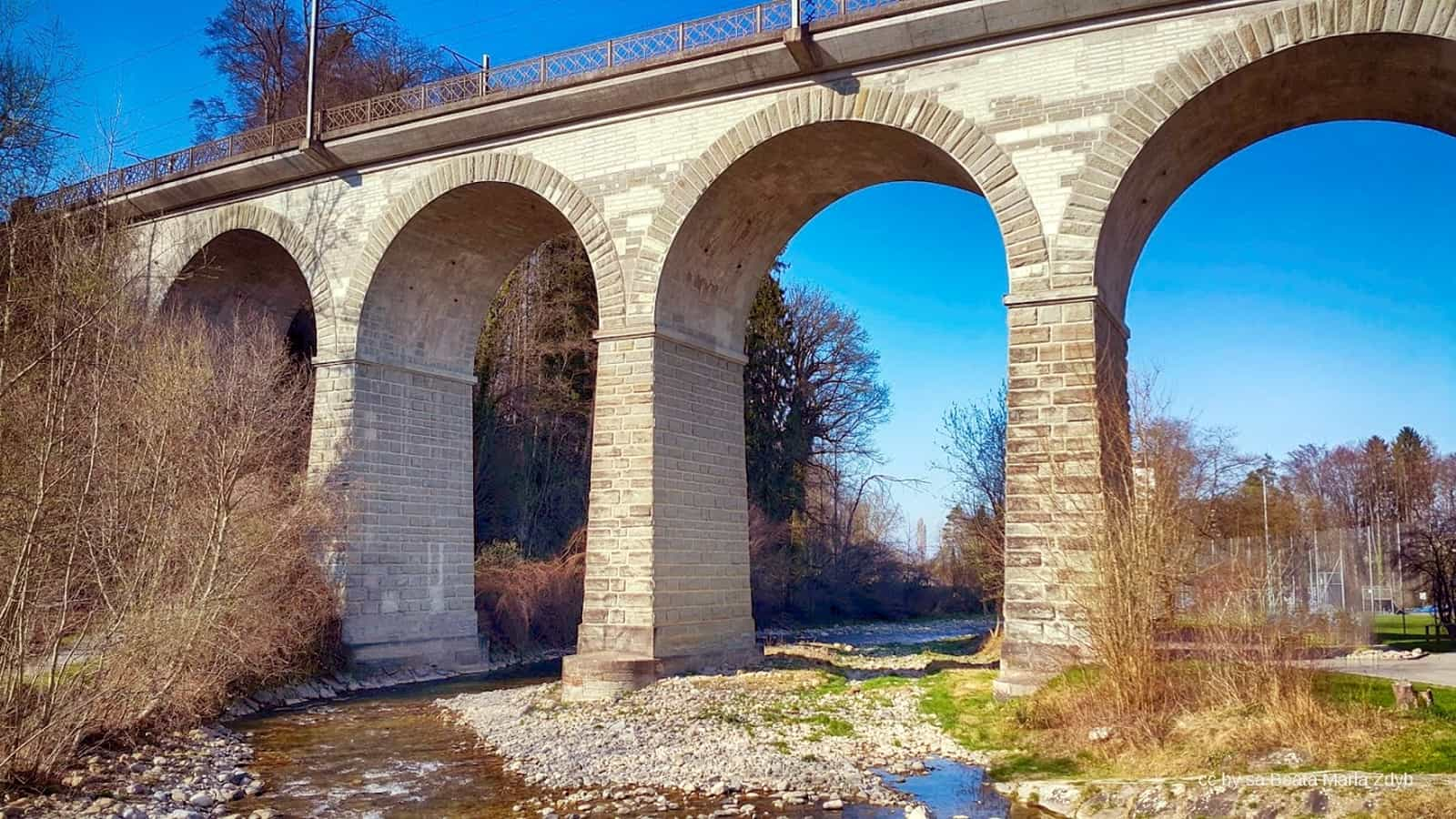 Goldach Viaduct SBB Switzerland
