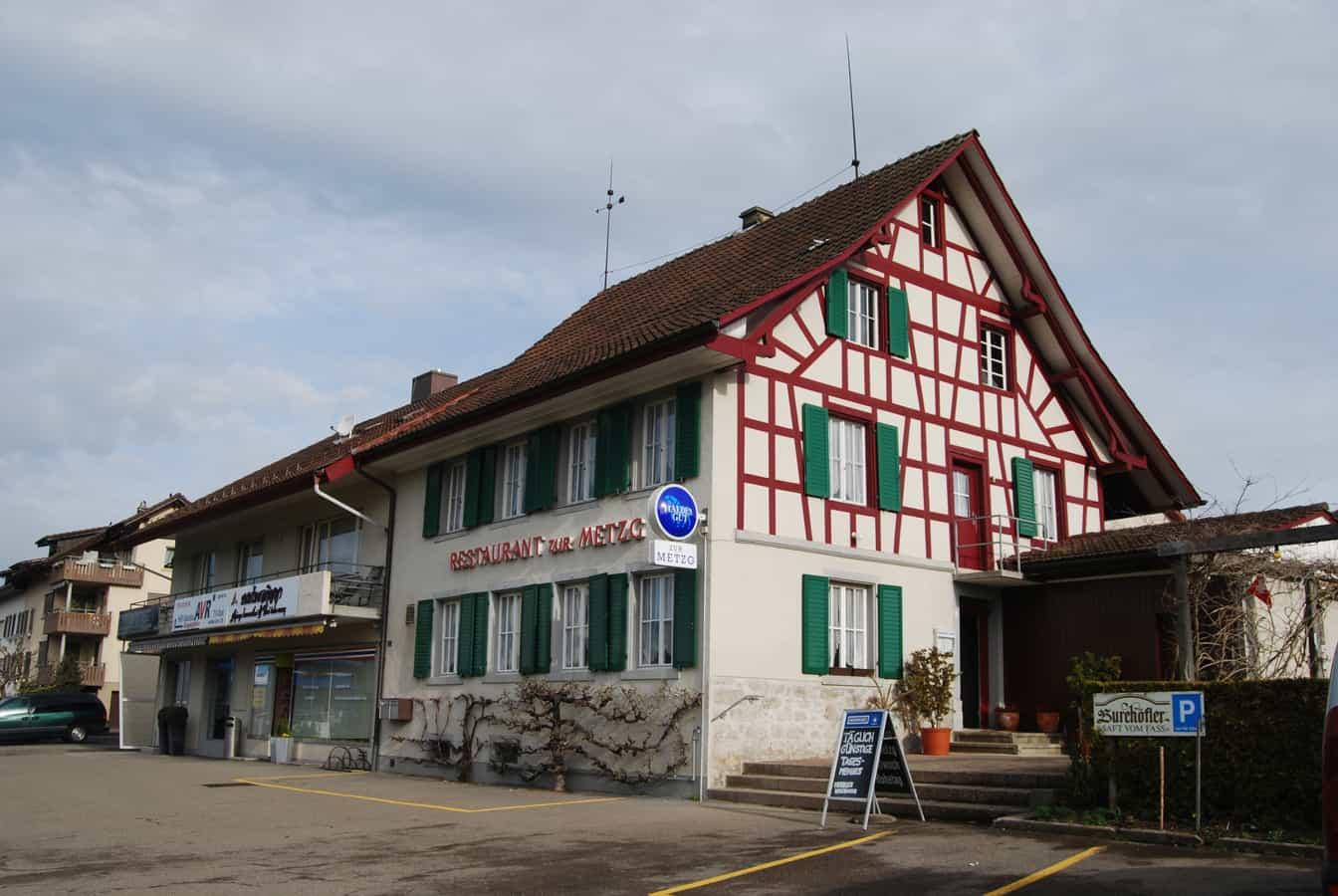 ehemaliges Restaurant Metzg in Oberweningen