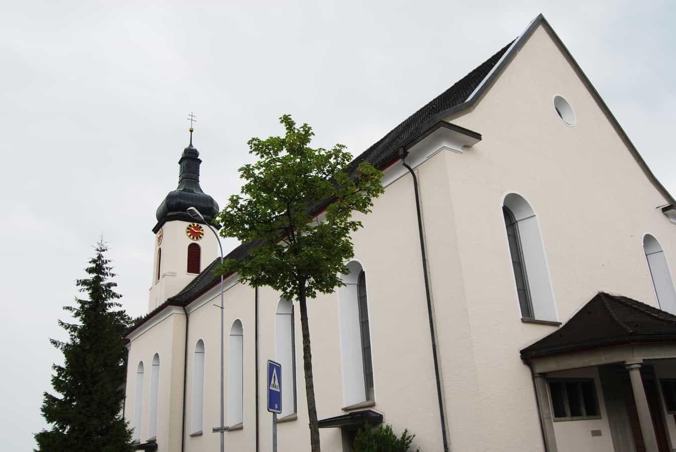 Heiligkreuzkirche in Kirchberg