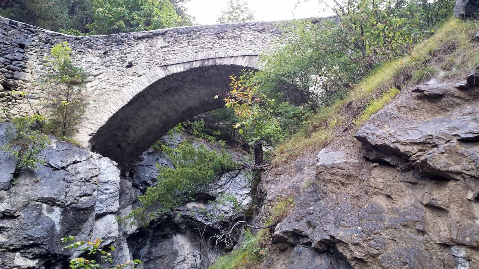 Pont du Diable à Savièse