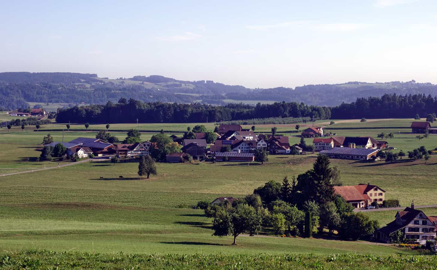 Weiler Bettenau bei Jonschwil, Schweiz
