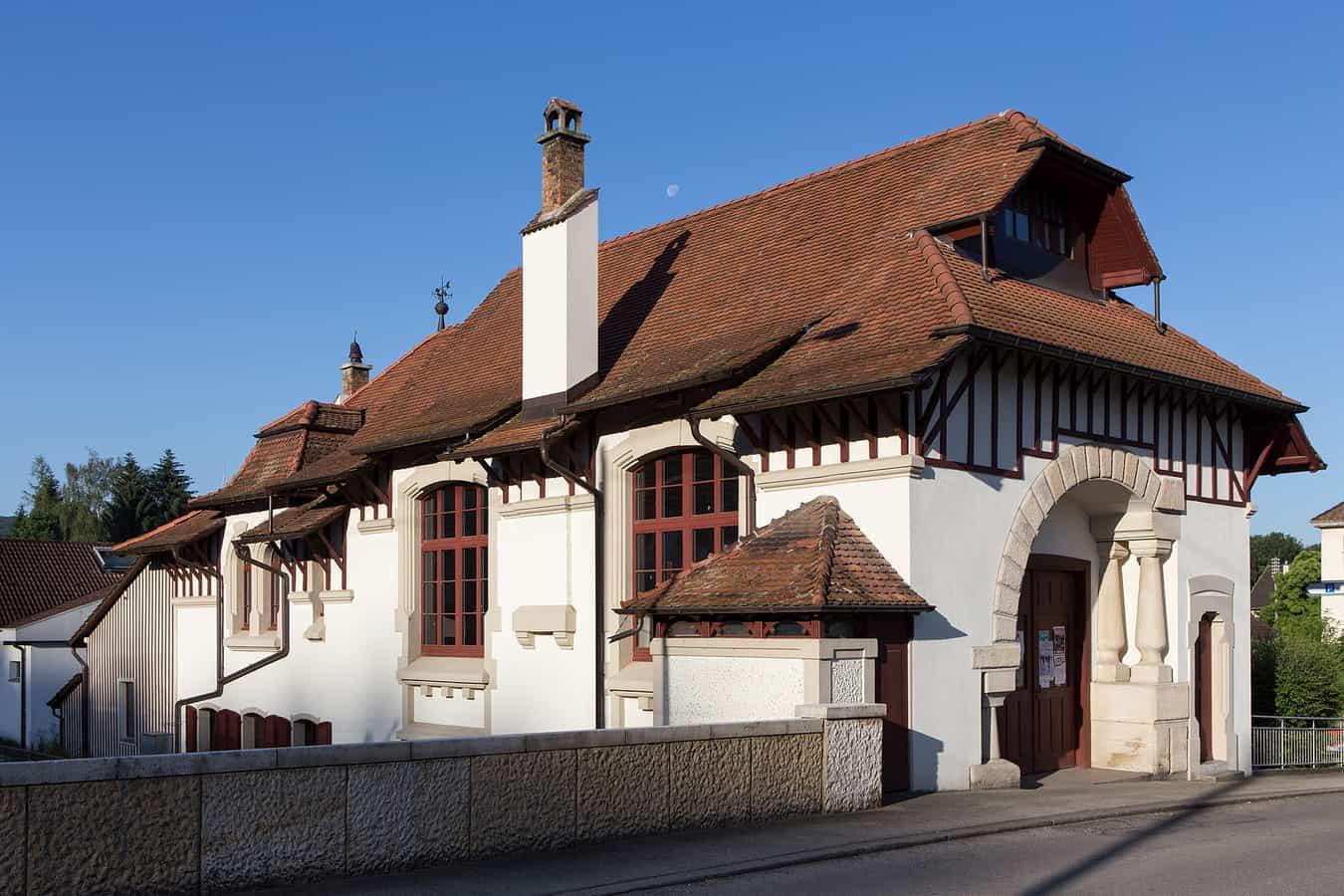 Ancienne salle communale de Boncourt