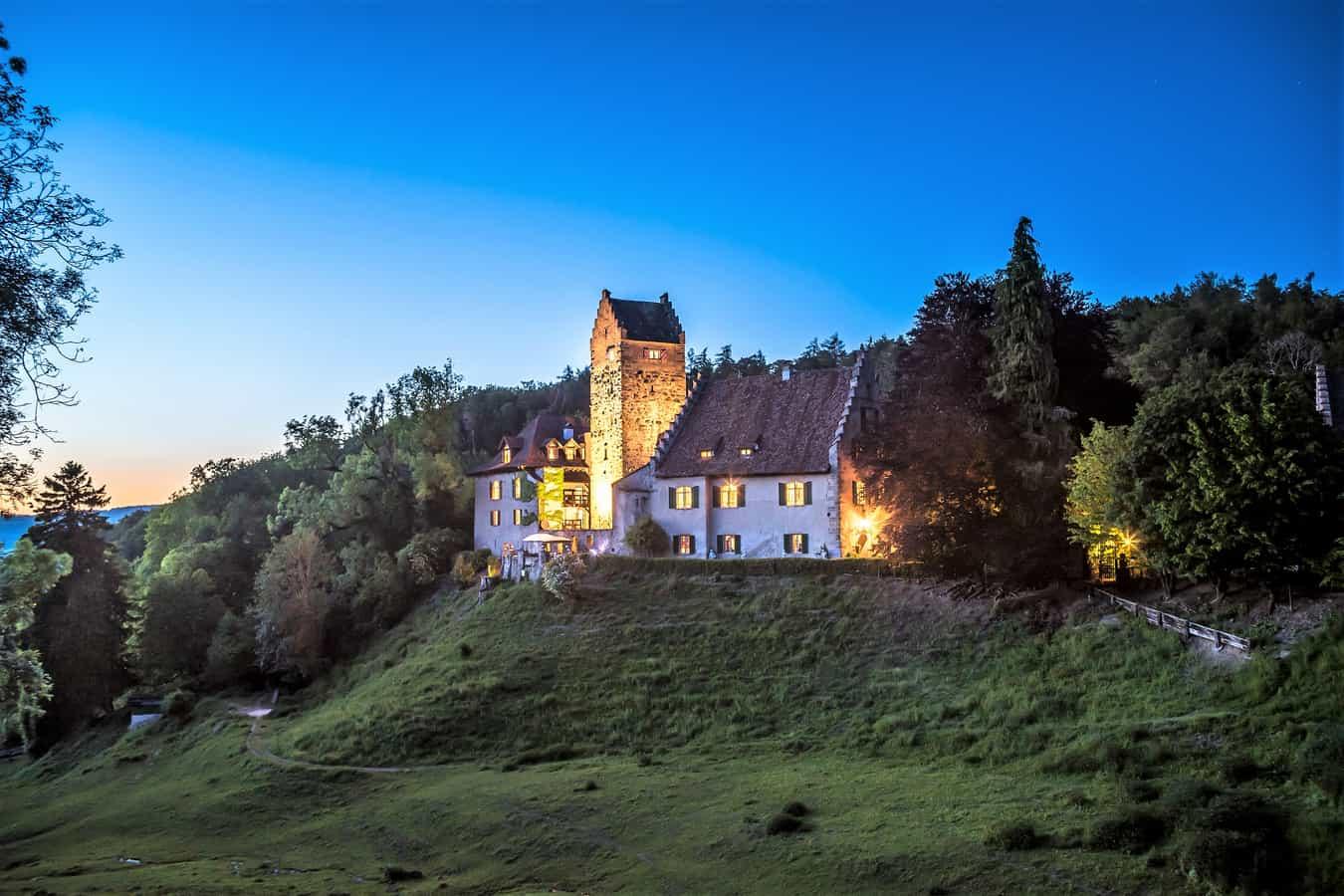 Burg Liebenfels in Lanzenneunforn