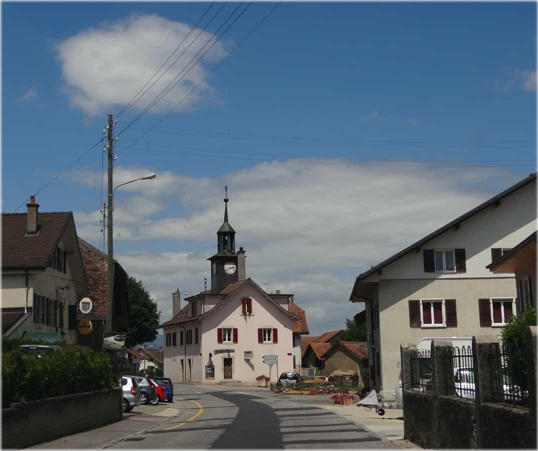 La village d'Orny