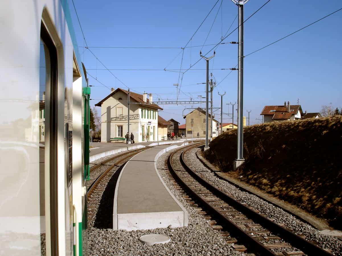 Station de Ballens