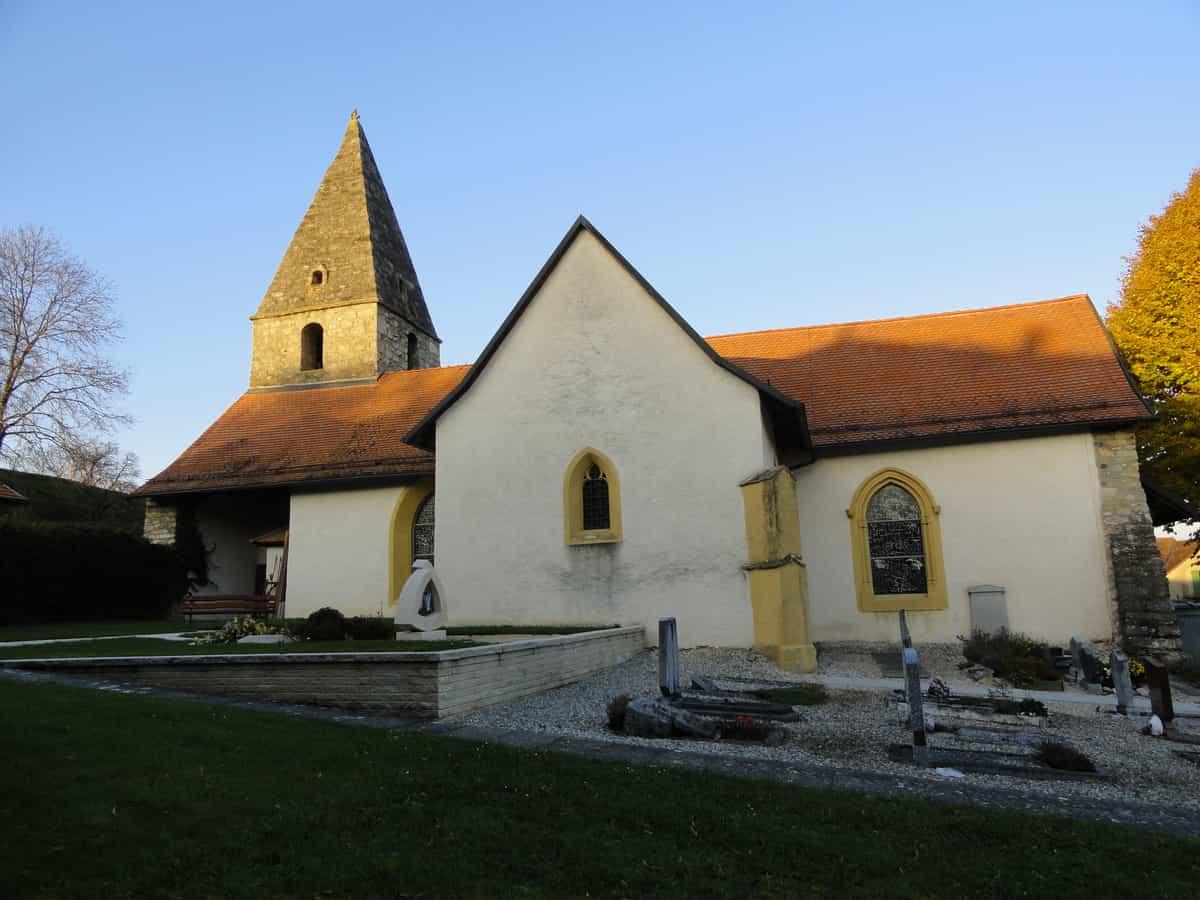 L'église Notre Dame à Orny