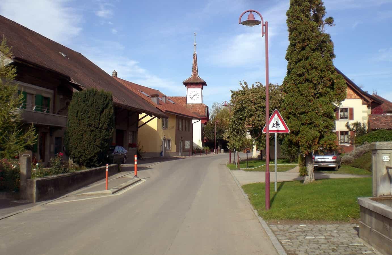 Église à Rueyres